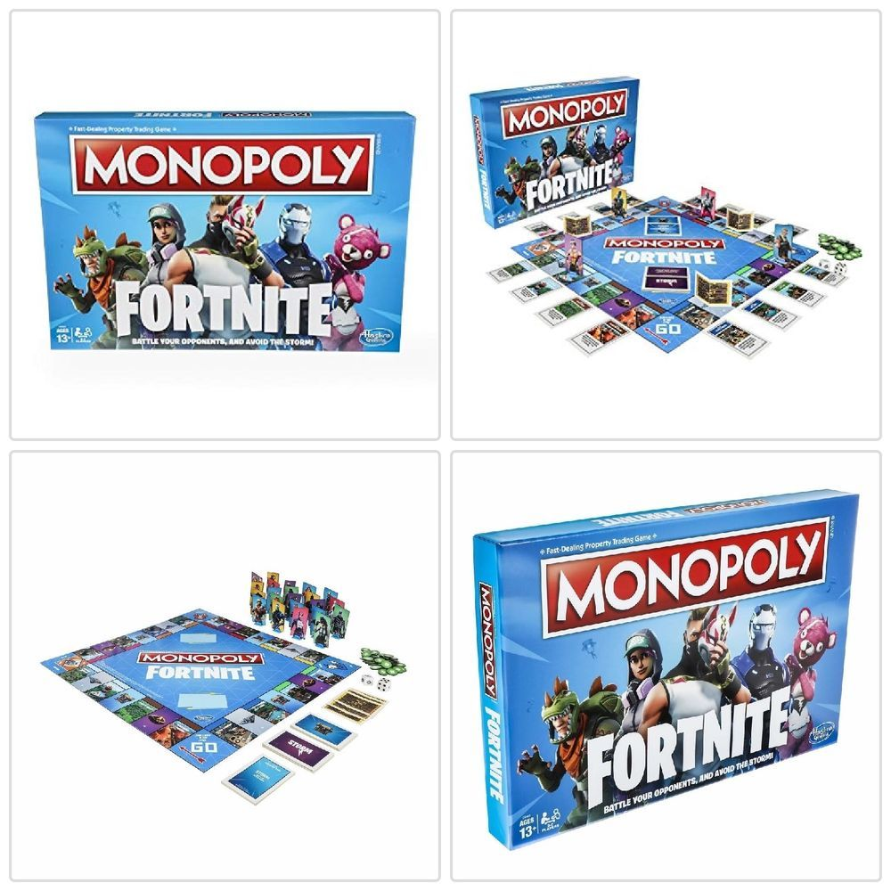 Board Game Monopoly Fortnite Edition Inspired By Fortnite Video Game
