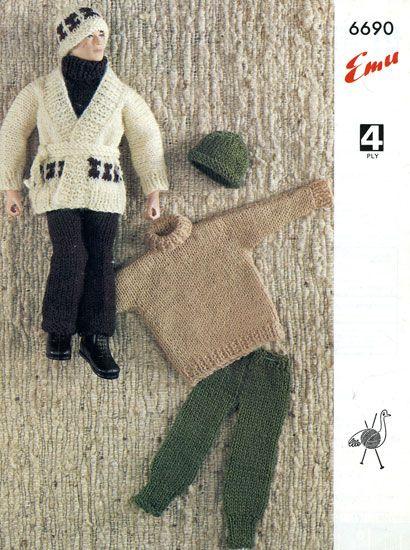 Emasculating Action Man Knitting Patterns by Richard Littler
