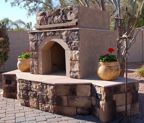 Arizona Outdoor Fireplaces Firepits Design Build Phoenix Az