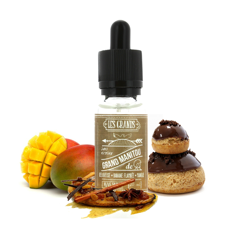 20ml GRAND MANITOU 0mg eLiquid (Without Nicotine) - eLiquid by