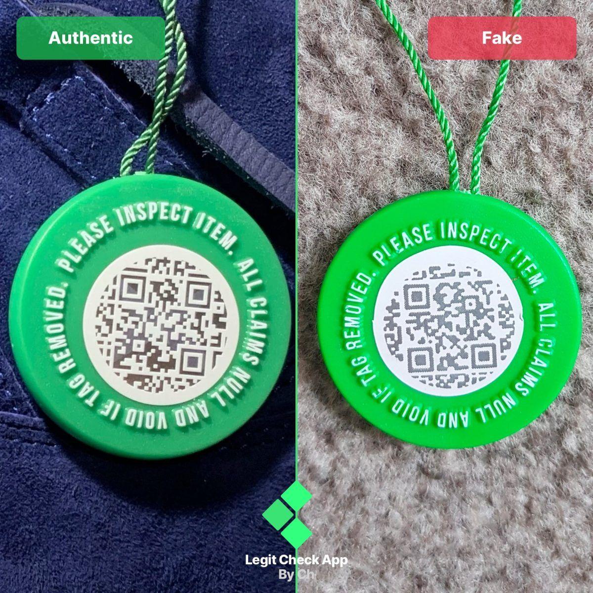 StockX Verified Authenticity Guide - QR