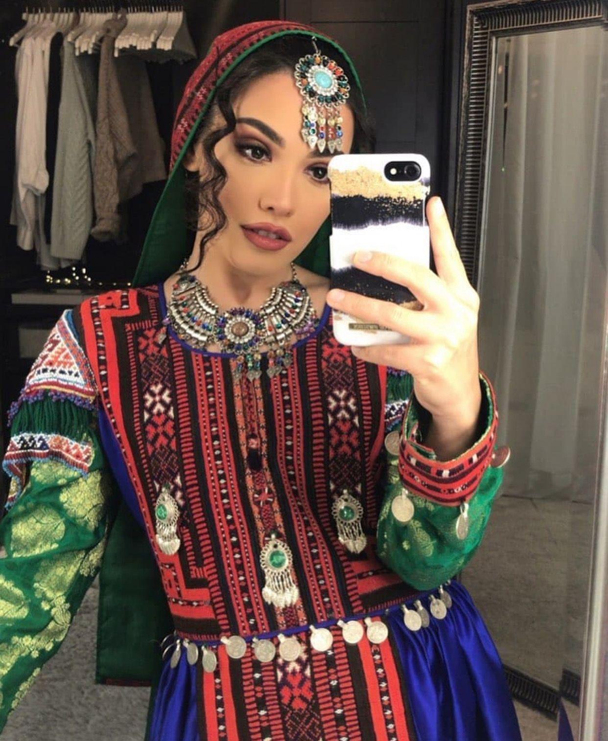 afghani #afghanistan #afghandress #afghanjewelry | afghan