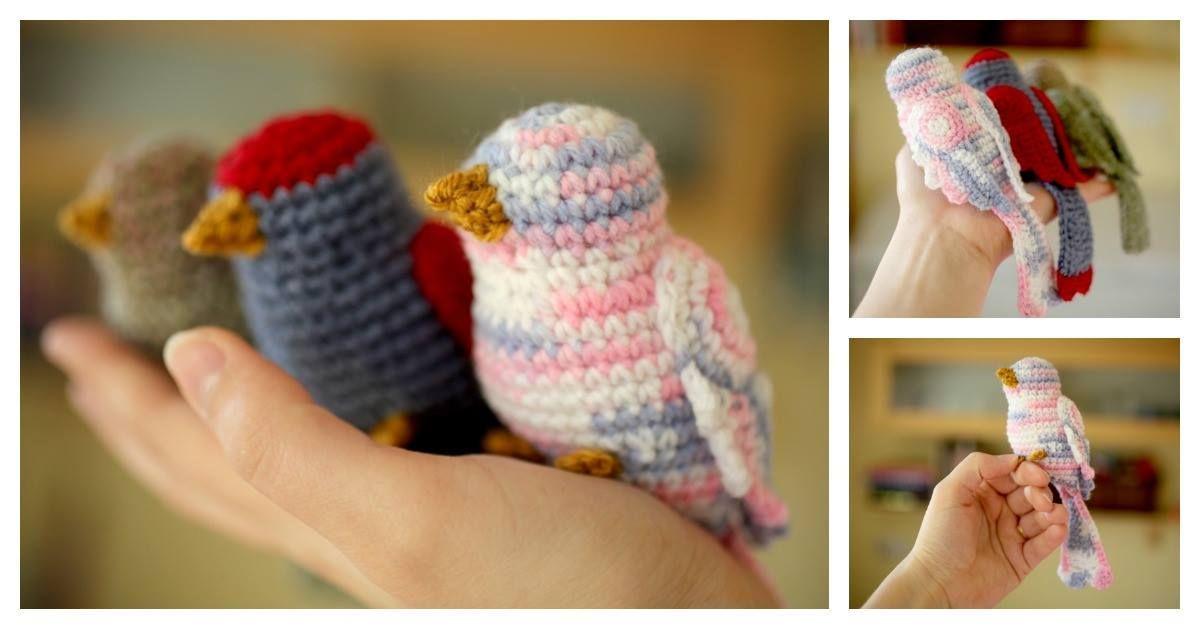 Amigurumi Bird Tutorial : Diy crochet bird tutorial usefuldiy art