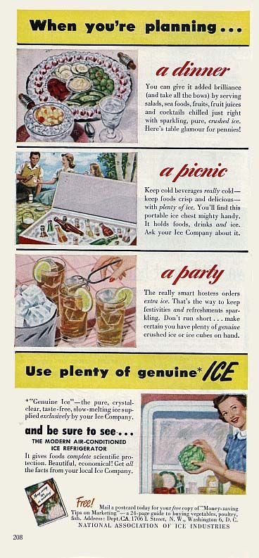 Retro-Ads.net: 1949 National Association of Ice Industries Ad