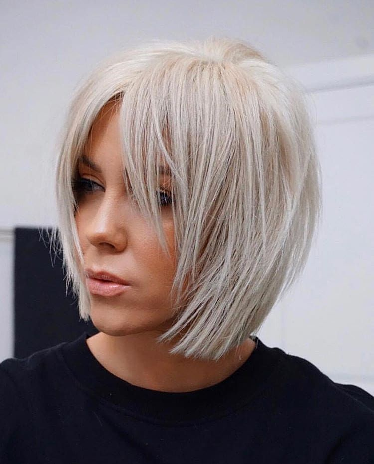 Top 20 einzigartige und kreative Bob Frisuren 2020 (77 Fotos + Videos) //  #2020 #Einzigartige #Fotos #Frisuren #Kreative #Videos #frisurentrends2020