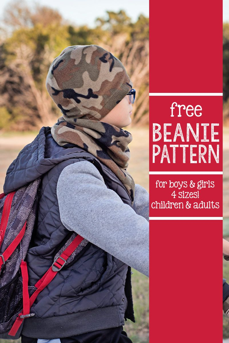 I\'ve got a great new Free Beanie Hat Pattern, in four sizes, for you ...