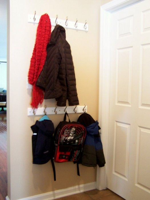 Mudroom Coat Racks Adult And Kid Height Organizing Ideas In Simple Standard Coat Rack Height