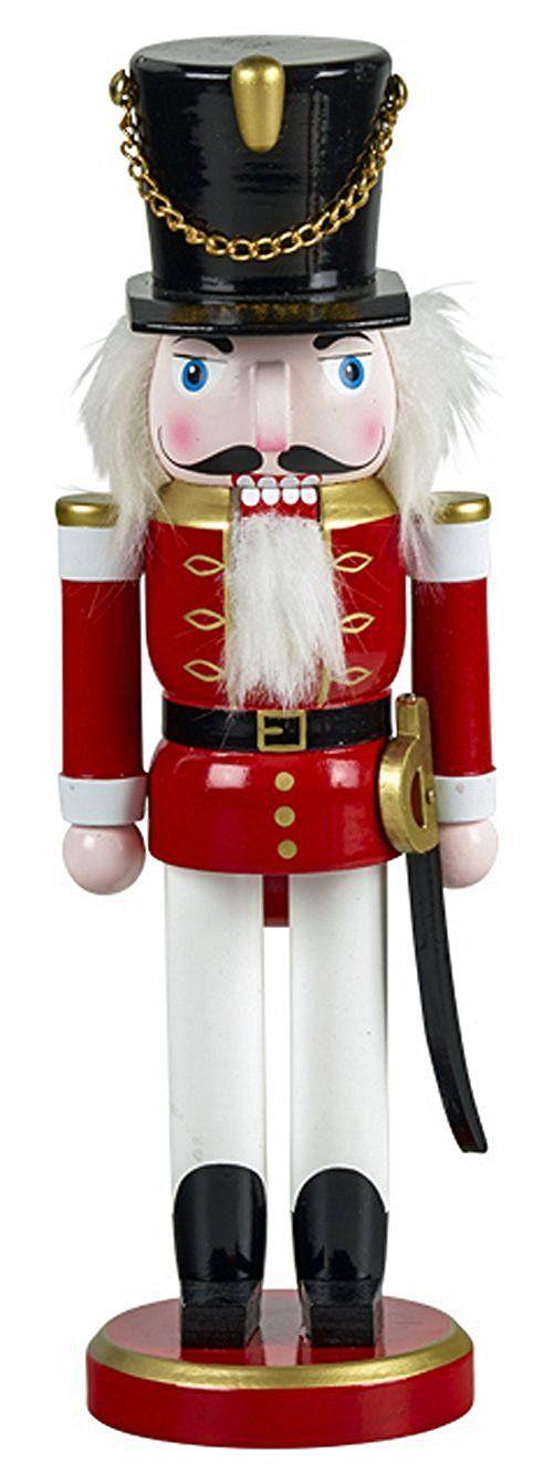 Casse Noisette Soldat Casse Noisette Env 26 Cm De Haut En Bois De Couleur Décoration De Noël Et De L Avent 920 Decoration Noel Noel Christmas Wonderland