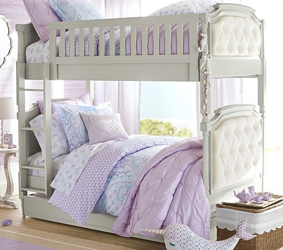 Blythe bunk bed pottery barn kids camryn sarai elizabeth pinterest beautiful pottery - Beautiful bunk bed teens ...