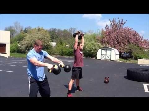 Strength Conditioning Pat Flynn Week 1 Day 1 Breaking Muscle Kettlebell Training Kettlebell Full Body Kettlebell Workout