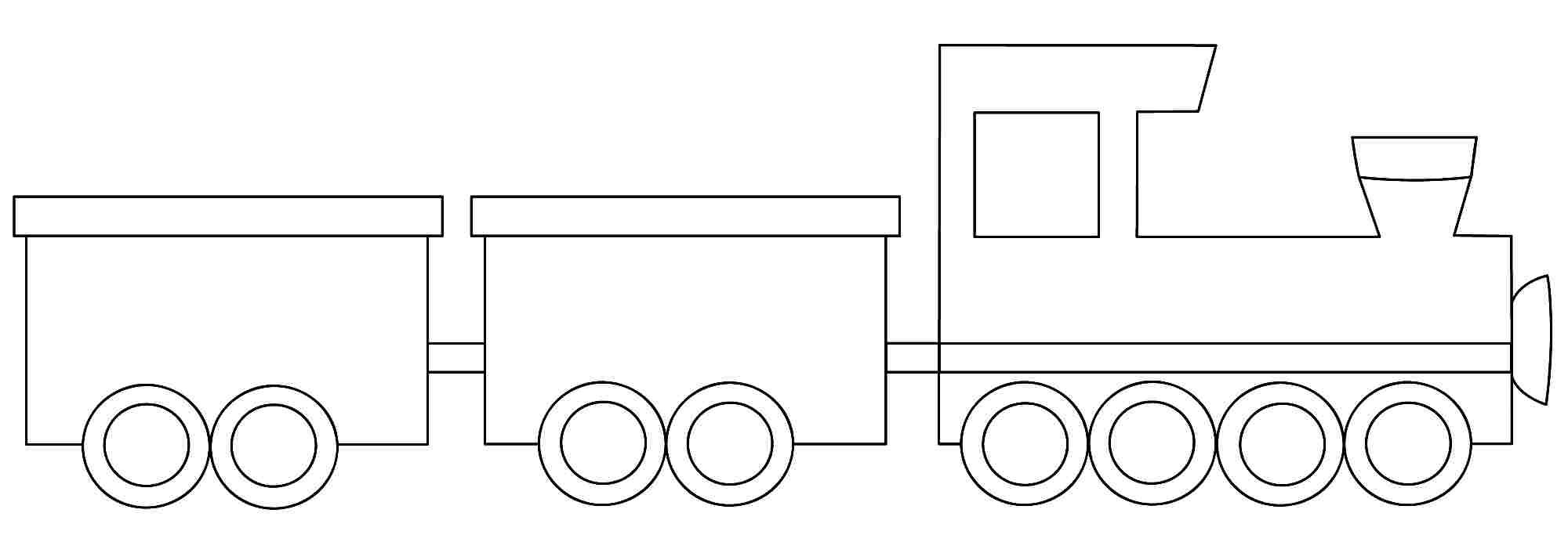 Simple Polar Express Coloring Page Printable Train Coloring Pages Train Template Coloring Pages