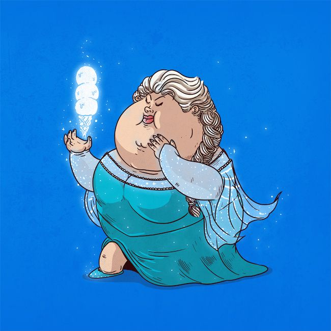 Chunky Elsa