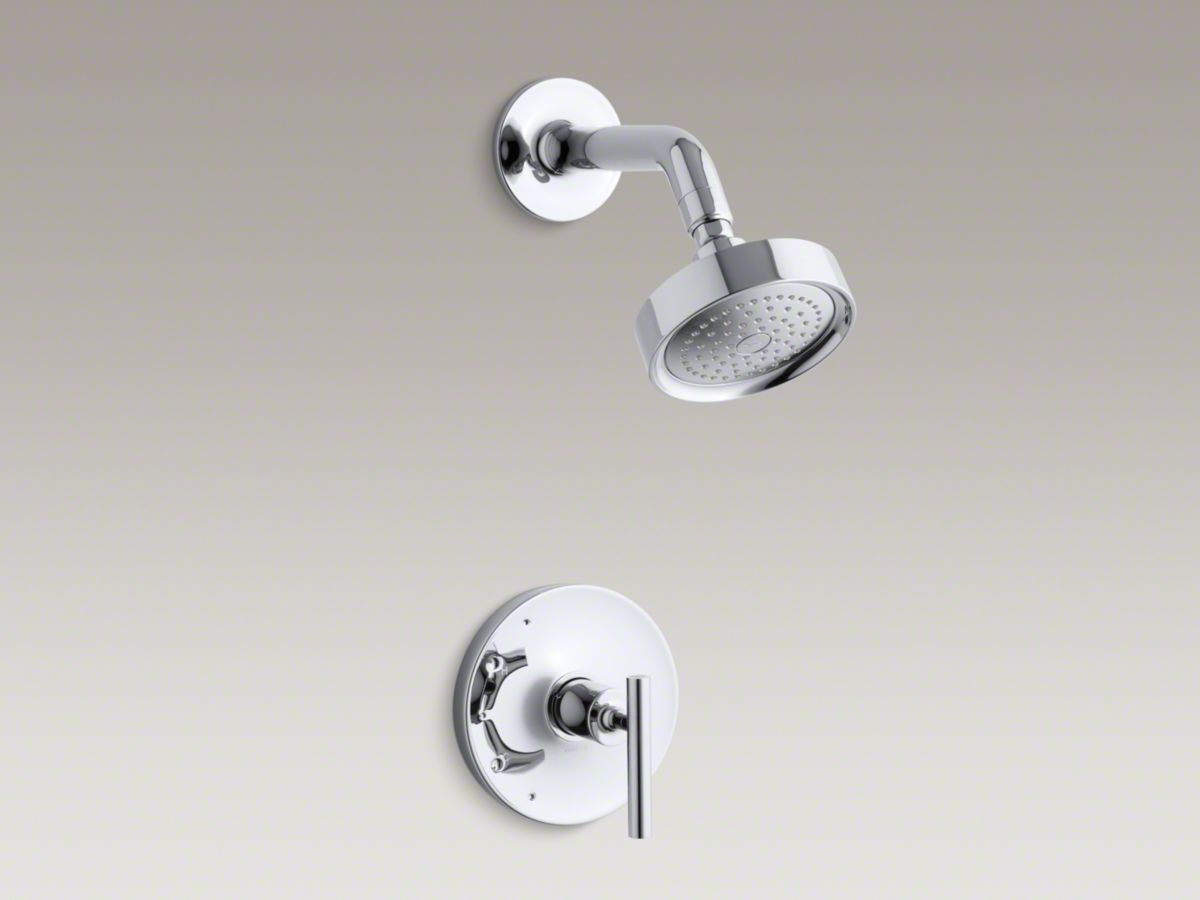 KOHLER Purist® Rite Temp® Pressure Balancing Shower Faucet Trim With Lever  Handle