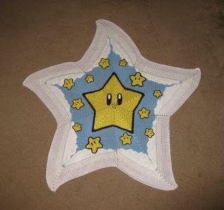 Star blanket crochet !