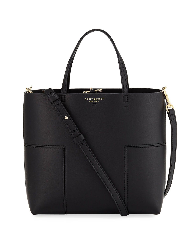 73b23d80a7b1 Tory Burch Block T Stud Mini Tote Bag large crossbody bag with space basic  handbag must have leather gold hardware minimalist design chic sleek  elegant work ...