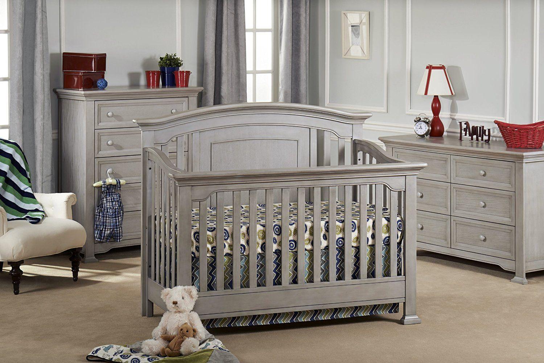 Medford convertible crib- vintage grey | Baby | Pinterest