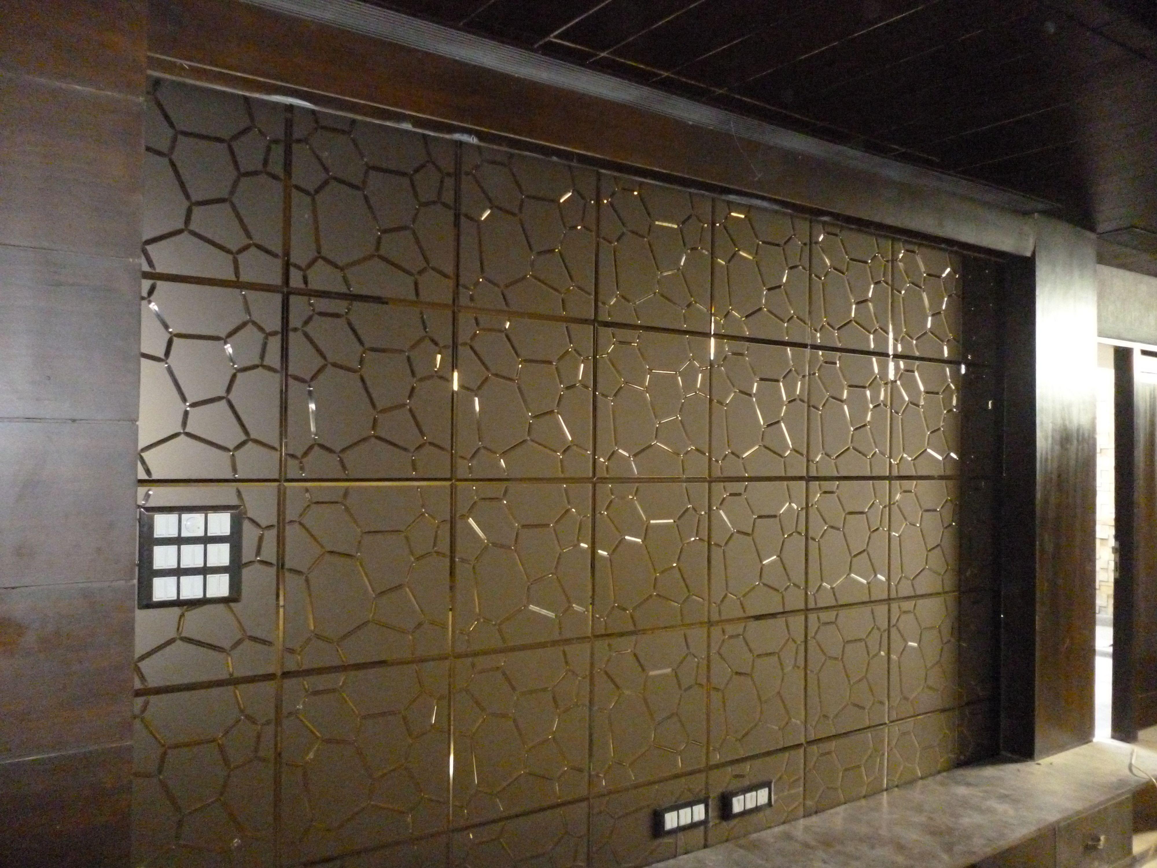 A017-Light Bronze | Glass tile, Mirror tiles, Mirror panels