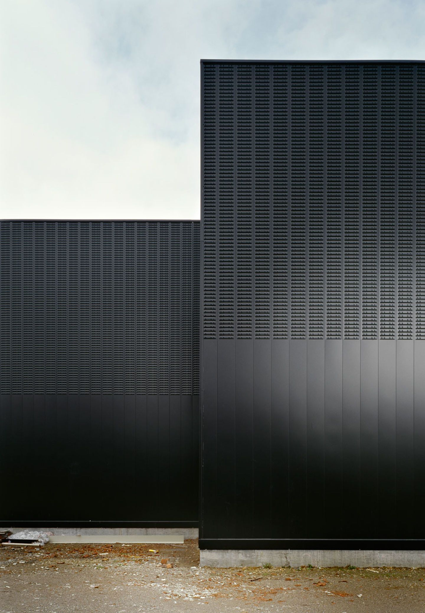 A Galvanized Steel Secondary Structure