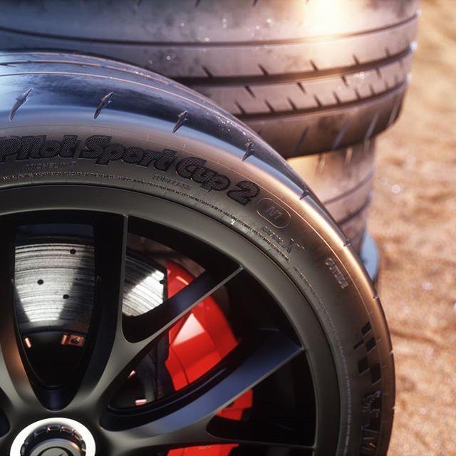 3d 2012 Tesla Roadster Sport: 3D Model Of Michelin Pilot Sport Cup 2 Tire With Tesla