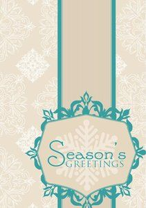 Ornate seasons greetings shield greeting cards design template ornate seasons greetings shield greeting cards design template m4hsunfo