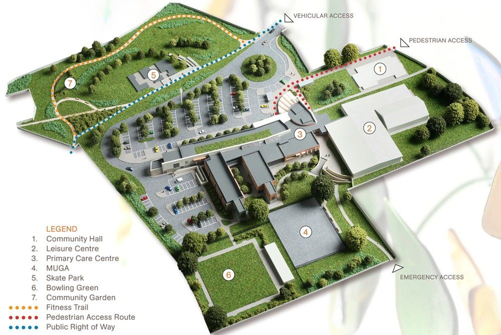 Sample Site Plan Presentation Delineation Pinterest