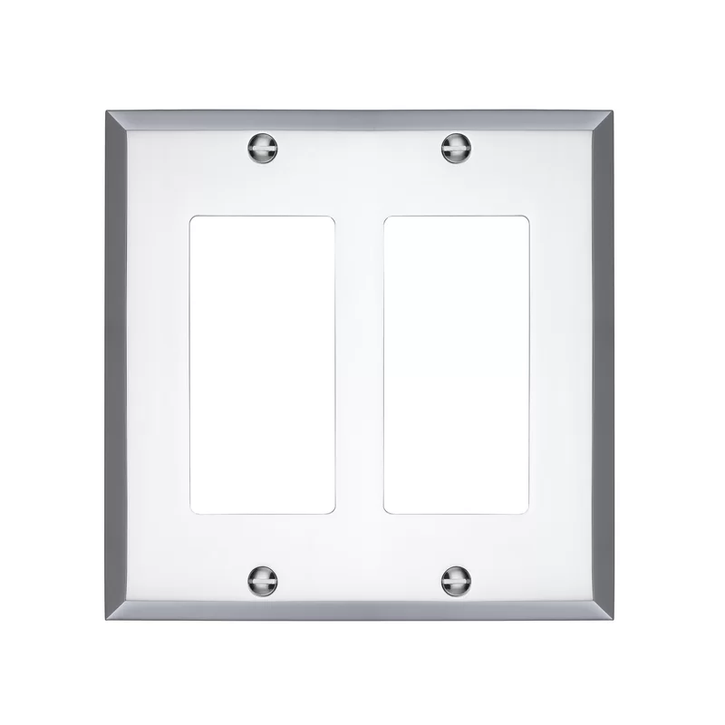 Graham 2 Gang Rocker Wall Plate Light Switch Covers Plates On Wall Switch Covers