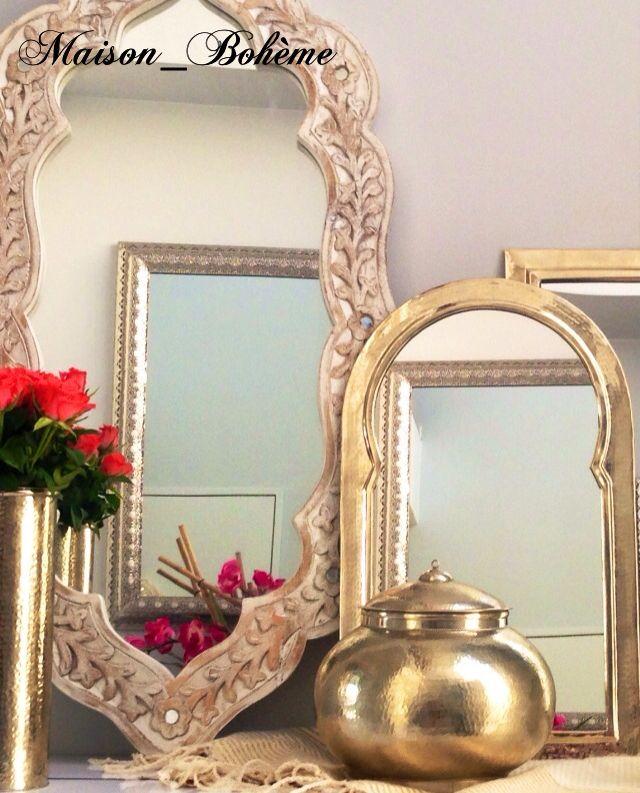 Découvrez notre sélection de miroirs luminaires et objets de décoration issus de l artisanat