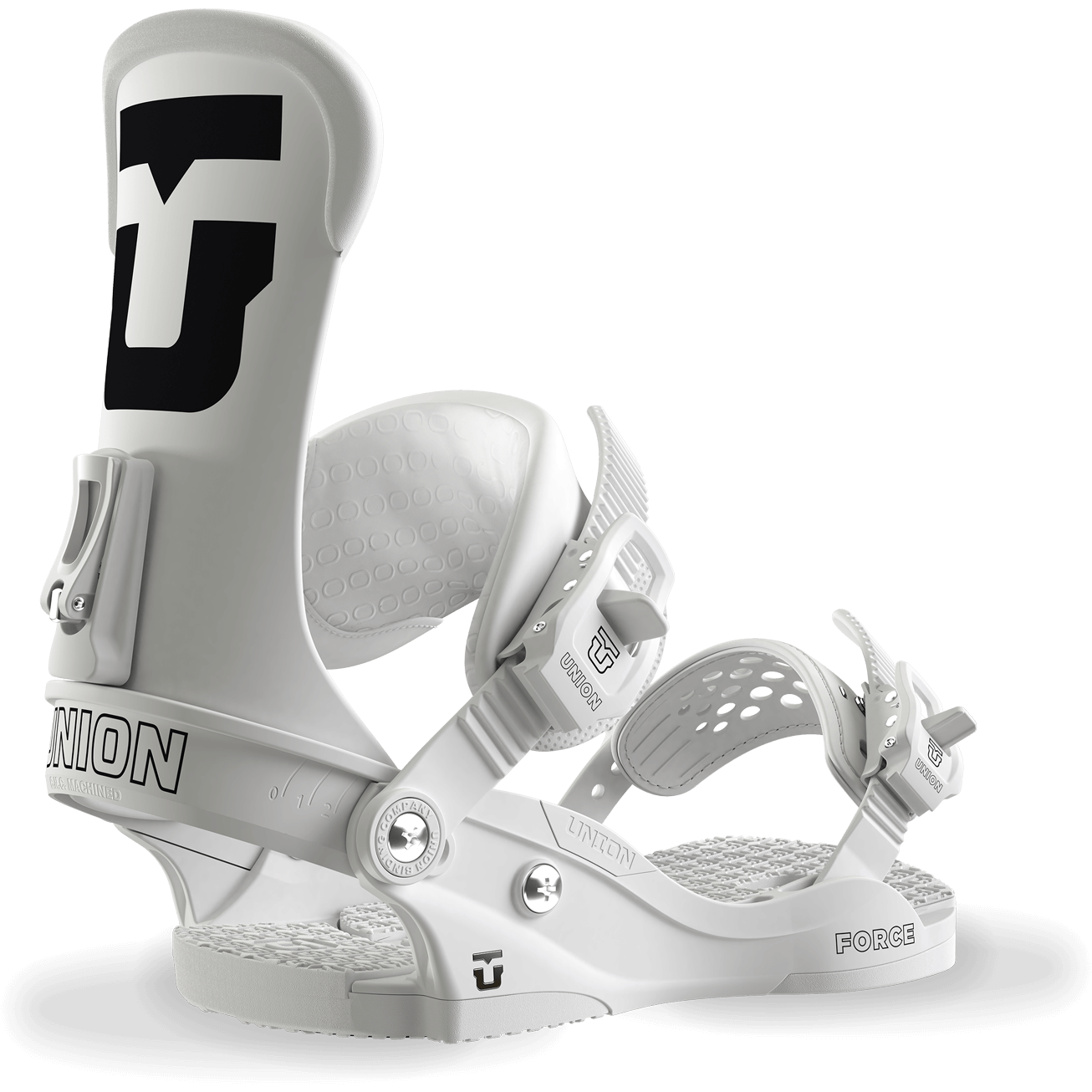 Union Force Snowboard Bindings White 2018