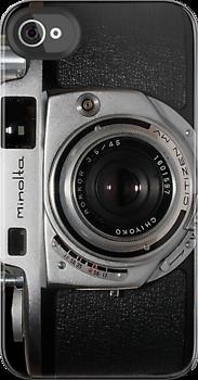 Vintage Minolta Camera (iPhone Cover)
