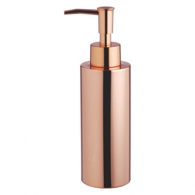 COLLIER Copper metal soap dispenser