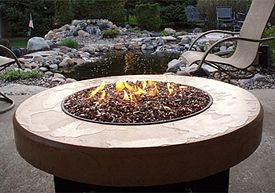 Patio Table Outdoor Fire Pit Fire Pit Decor Gas Fire Pits Outdoor