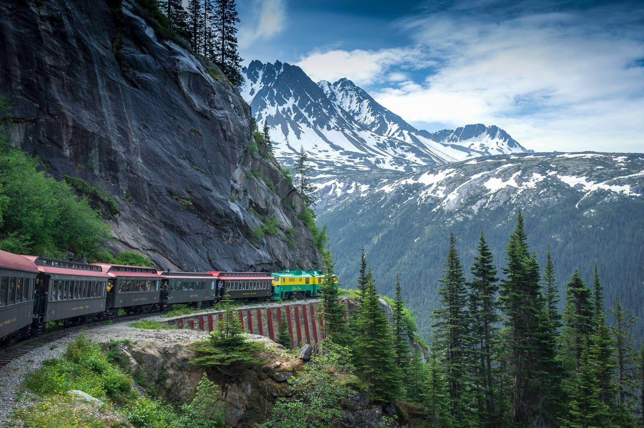 White Pass And Yukon Trail Alaska White Pass Railroad