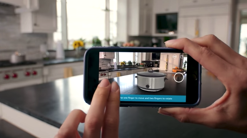 Amazon launches augmented reality iPhone feature to see virtual ...