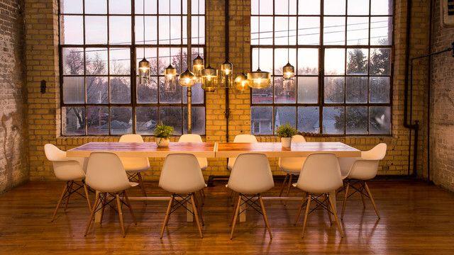 Mesmerizing Industrial Dining Room Lighting Simple Inspirational
