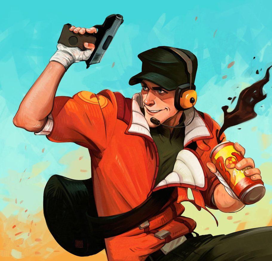 Bonk Ya By Kredous Deviantart Com On Deviantart Team Fortress 2 Team Fortress Tf2 Scout