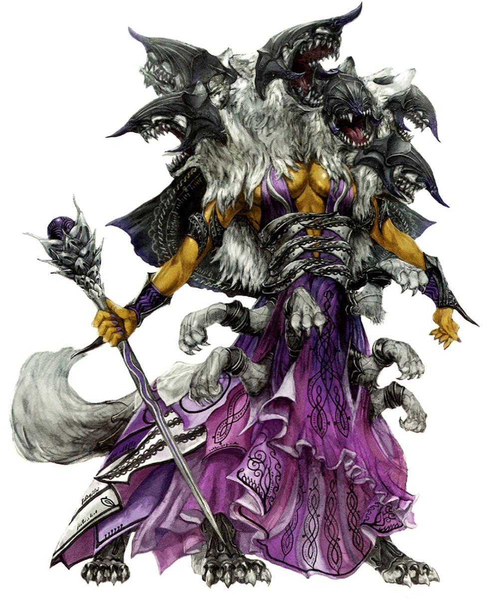 FF14 Scylla | CO | Concept · ᴊᴀᴘᴀɴ | Fantasy demon