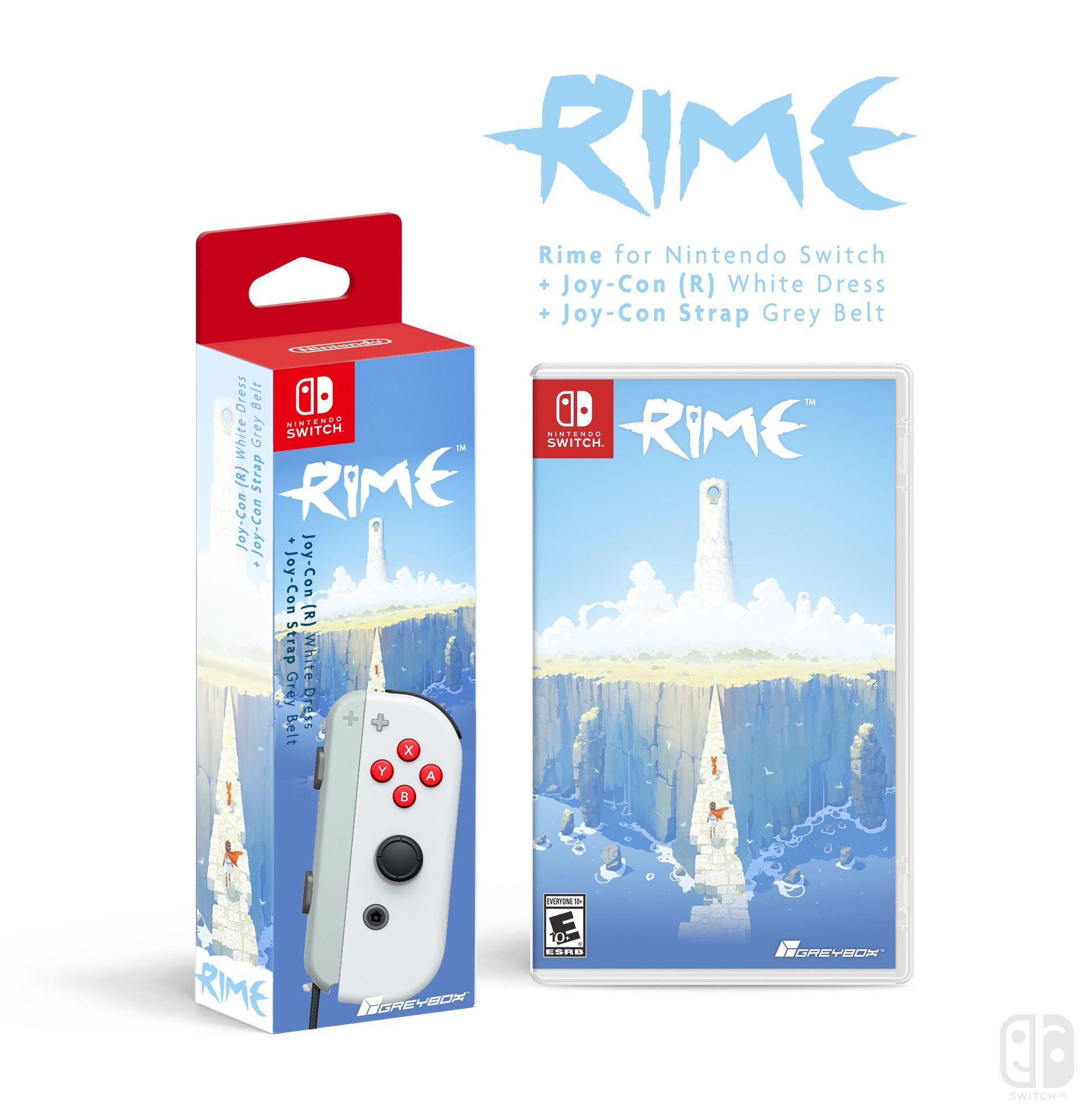 Joy Con R Rime Game Nintendo Collector Switch Grey Bundle 2game 2amiibo