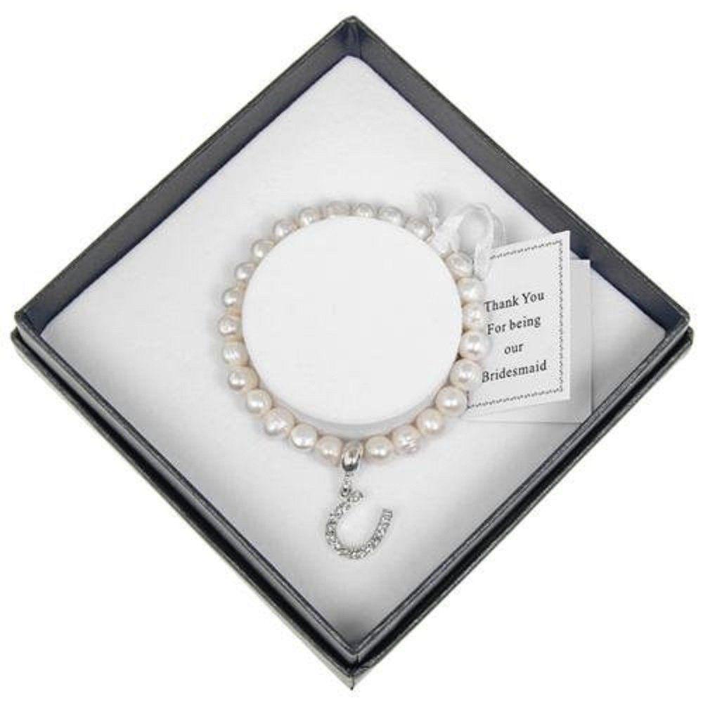 Equilibrium natural fresh water pearl bridesmaid gift
