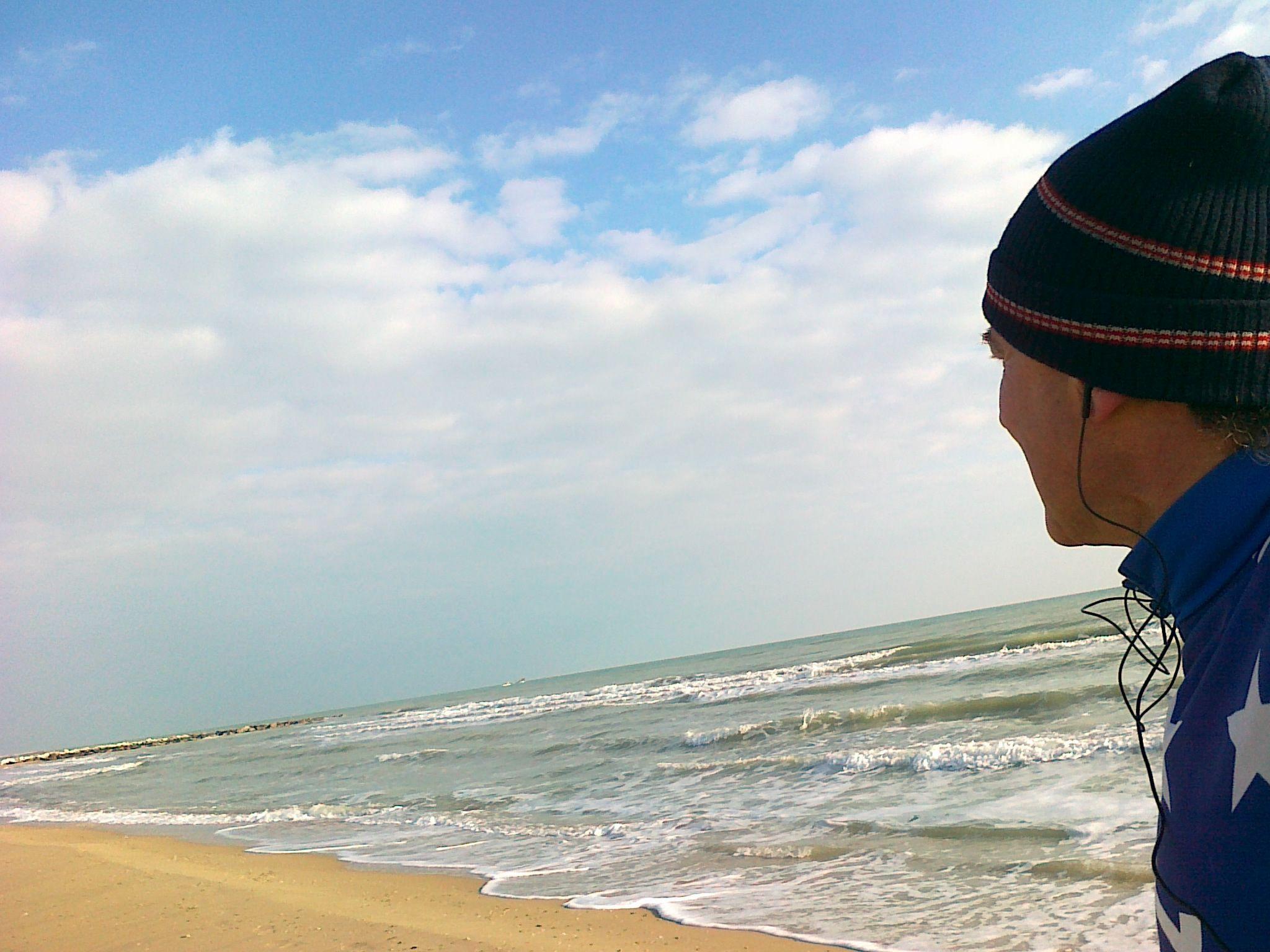 Uno sguardo al mare..
