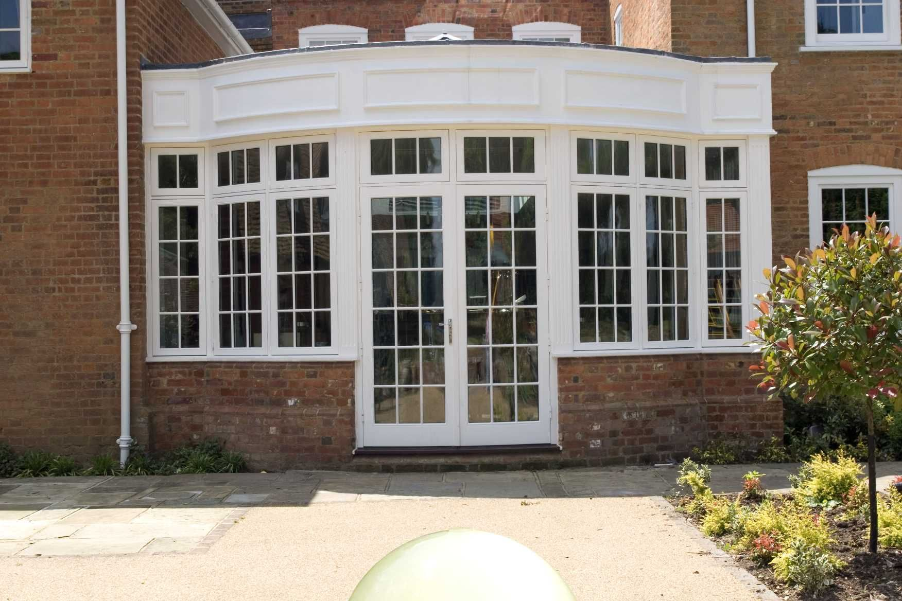 Curved French Patio Doors