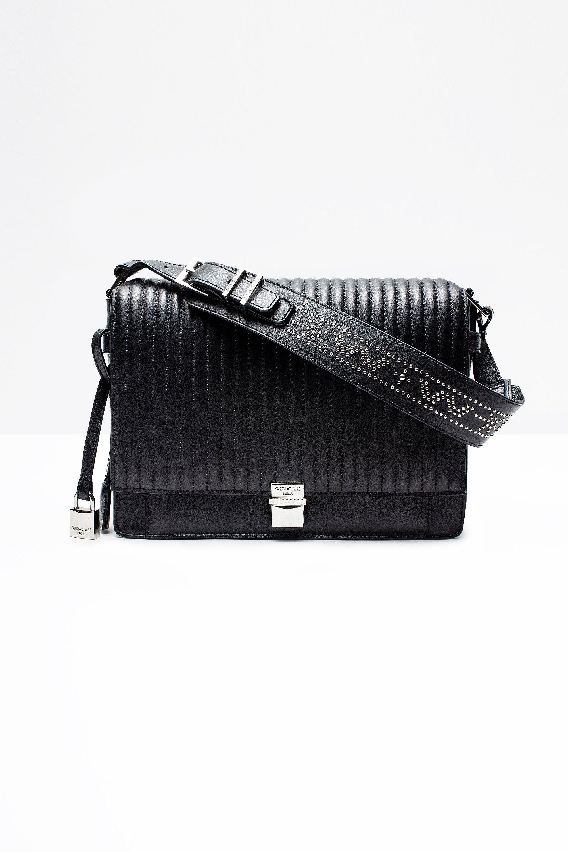 07b9a003b5 Sac à main Zadig & Voltaire avec décoration cloutée, bandoulière ajustable, poche  intérieure zippée