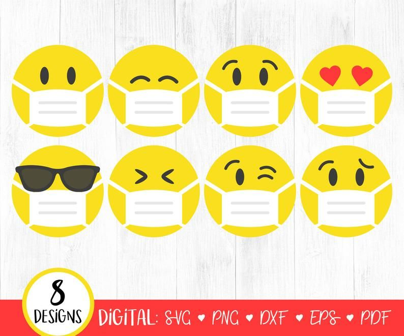27+ Free clipart emoji with mask ideas in 2021