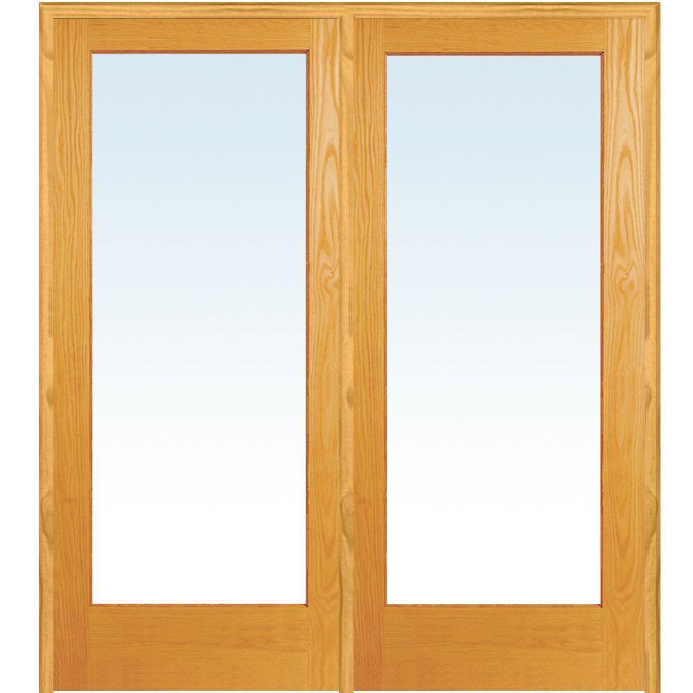 interior clear glass door. Milliken Millwork 62 In. X 81.75 Classic Clear Glass 1-Lite Unfinished Interior Door T