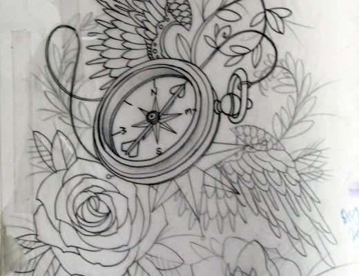 Music Notes Dragonfly And Clock Tattoos For Girls And Women
