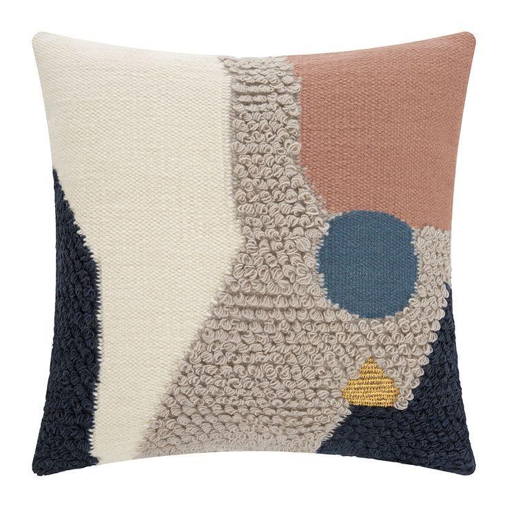 Buy Ferm Living Loop Pillow - Landscape - 50x50cm | AMARA
