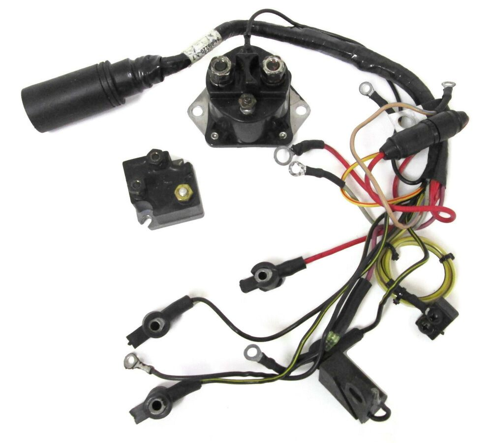 Sold Mercury Mariner Outboard Wiring Harness 96220a7 96220a4 1 35 300hp V6 1976 1999 Quicksilver Mercury Marin Outboard Mercury Outboard Marines