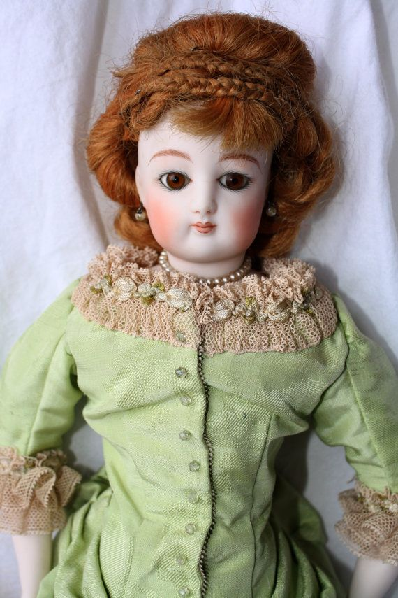 Vintage Clarmaid French Fashion Parian Doll, Clarmaid /1966 /9 Vintage Art Doll by Clara Wade under Emma Clear