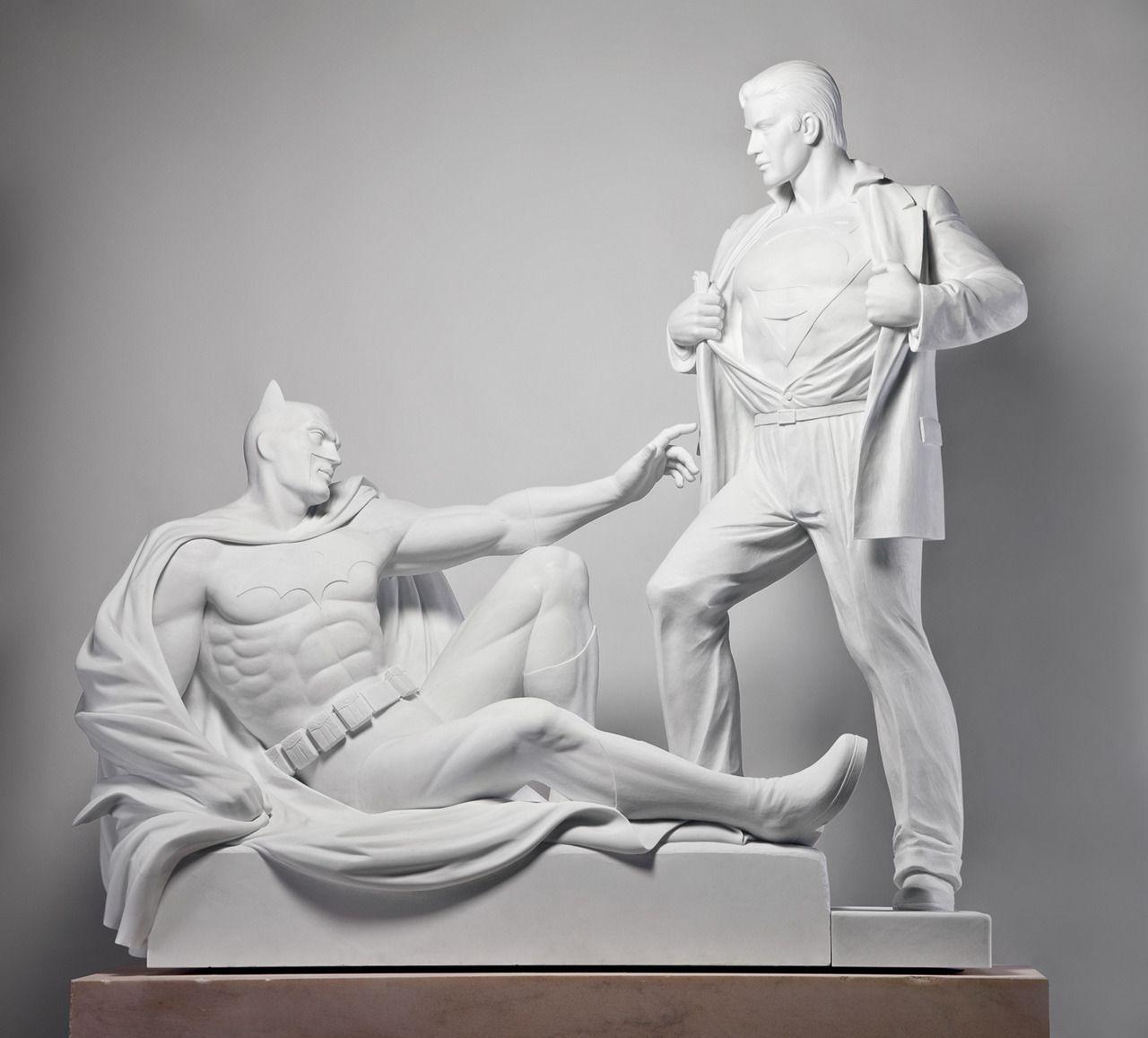 "Mauro Perucchetti ""Modern Heroes"