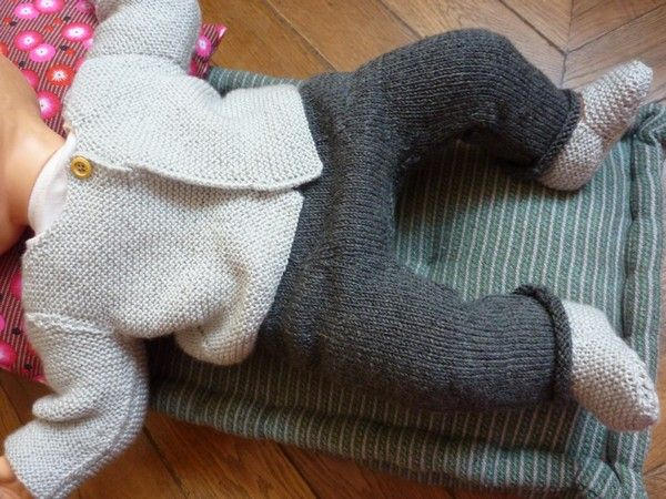 Le sarouel version tricot.