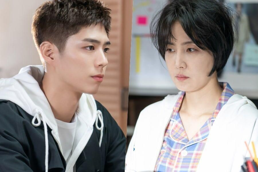 """Park Bo Gum And Shin Dong Mi Sit Down For A Serious Talk In """"Record Of Youth"""""""